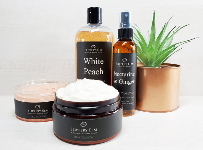 White Peach with Nectarine & Ginger Full Bath Experience Gift Set