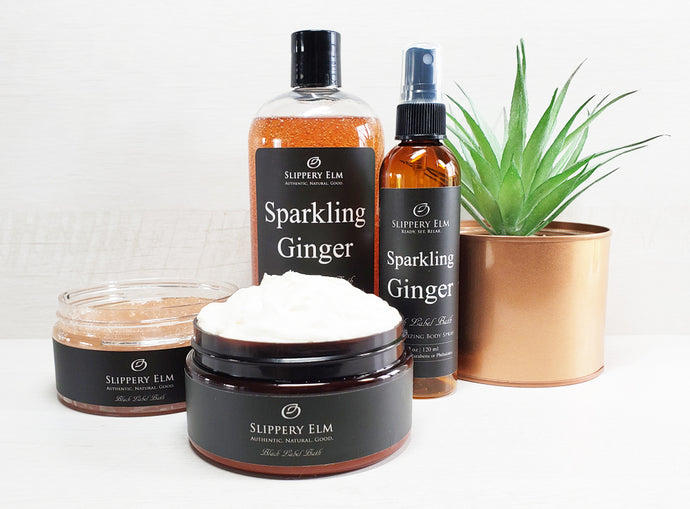Sparkling Ginger Full Bath Experience Gift Set