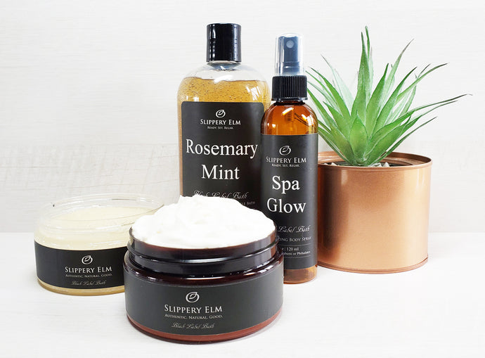 Rosemary Mint & Spa Glow Full Bath Experience Gift Set