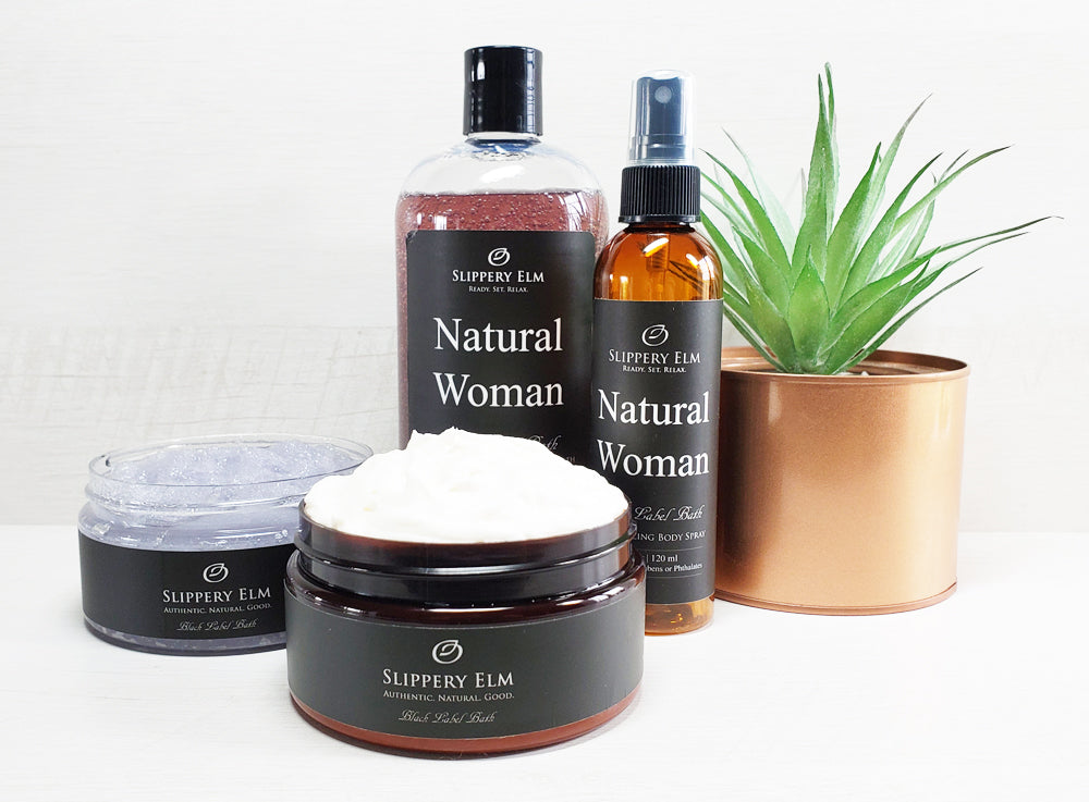 Natural Woman Full Bath Experience Gift Set
