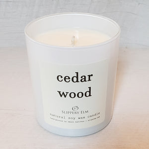 Cedar Wood Scented Soy Candle (8.75 oz.)
