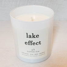 Load image into Gallery viewer, Lake Effect Scented Soy Candle (8.75 oz.)