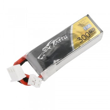Tattu 300mAh 7.6V 75C 2S1P Lipo Battery Pack with JST-PHR Plug(perfecto tinyhawk-S)