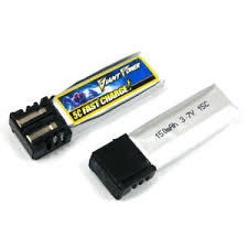1 x 3,7 volts 150mah 15c giant power