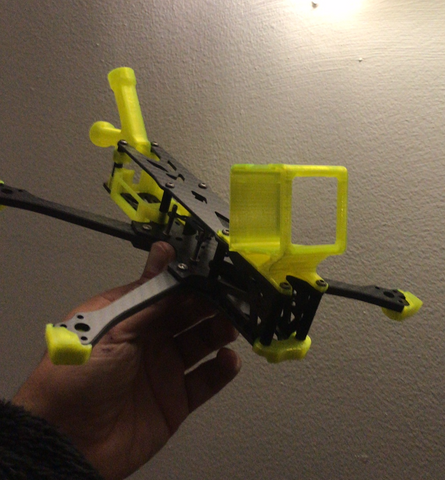 BCROW FPV FRAME 230HD (VERSION DJI HD AZUL)