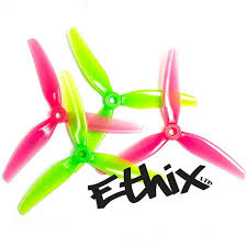 HQProp Ethix S3 Watermelon Propellers (freestyle)