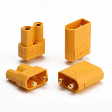 1 x set XT 30 power connector (male+female)