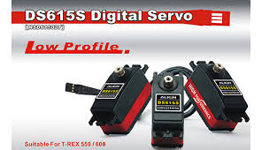HSD61502T DS615S DIGITAL SERVO