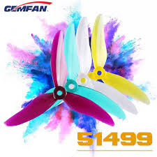 SET 4 X Flash 5149 durable 3 blades clear (OPCION DE COLORES)