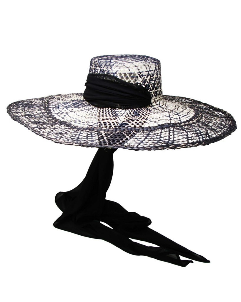 Long-Brim Hippie Calado Hat
