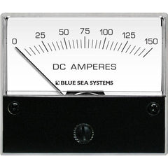 "Blue Sea 8018 DC Analog Ammeter - 2-3-4"" Face, 0-150 Amperes DC"