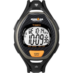 Timex Ironman 50 Lap Men's Digital Watch Black-Orange