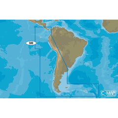 C-MAP 4D SA-D500 Costa Rica to Chile to Falklands