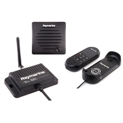 Raymarine Ray90 Wireless Second Station Kit with Passive Speaker, Wireless Handset & Wireless Hub