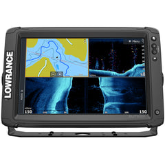 Lowrance Elite-12 Ti² Combo w-Active Imaging 3-in-1 Transom Mount Transducer & US-Canada Nav+ Chart