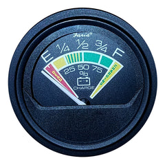 "Faria Heavy Duty 2"" Battery Condition Indicator - 12VDC - Black"