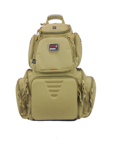 G.P.S. Handgunner Backpack Tan