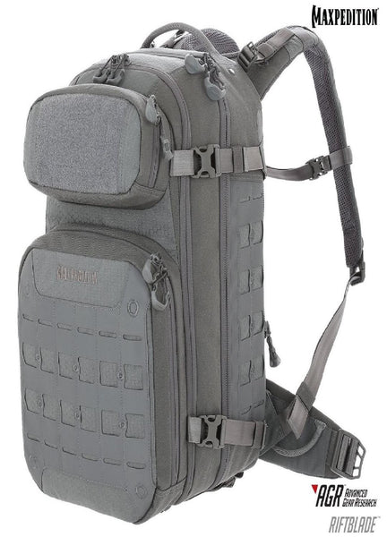 Maxpedition RIFTBLADE CCW-Enabled Backpack Gray