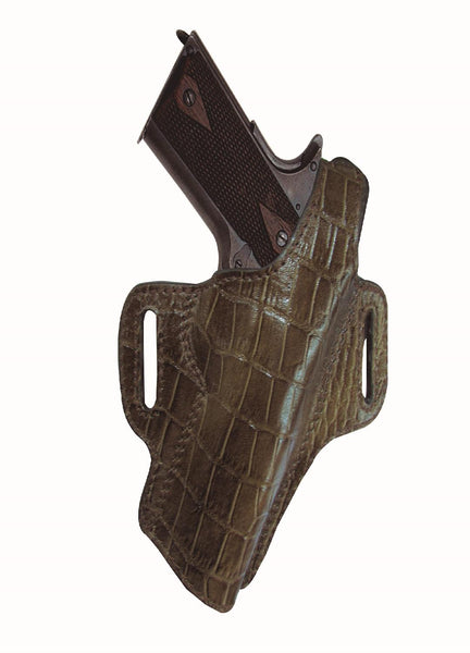 Tagua Premium Thumb Break Belt Holster Colt 1911-4in Brown