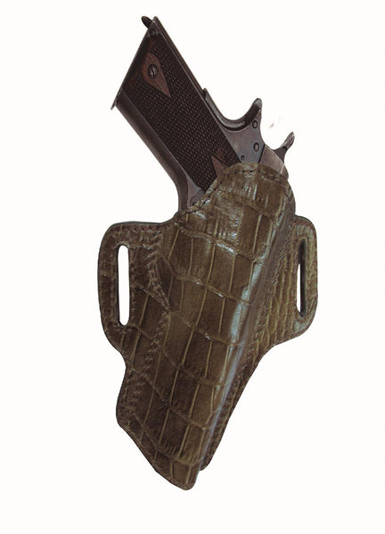 Tagua Premium Open Top Belt Holster Colt 1911 - 3in Brown