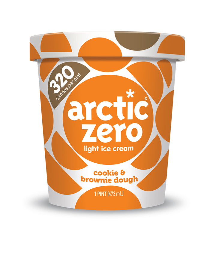 Arctic Zero Light Ice Cream - Cookie & Brownie Dough