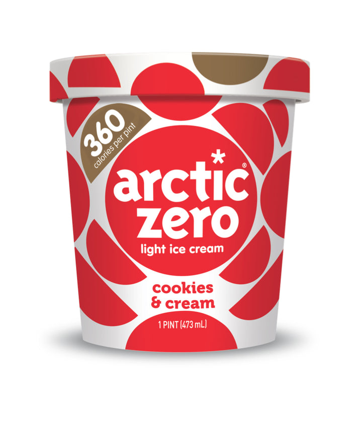 Arctic Zero Light Ice Cream - Cookies & Cream