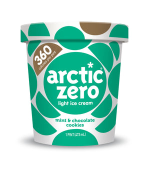 Arctic Zero Light Ice Cream - Mint & Chocolate Cookies