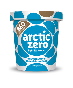 Arctic Zero Light Ice Cream - Peanut Butter & Cookies