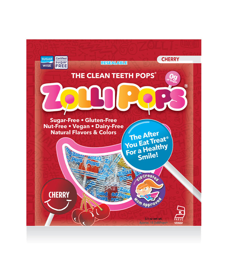 Zollipops The Clean Teeth Pops - Single Flavor