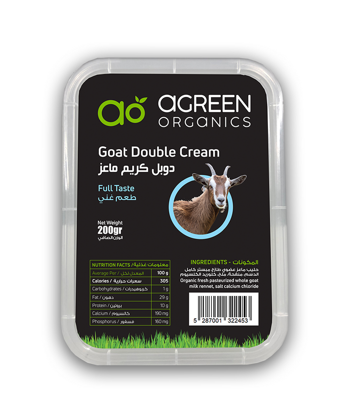 Agreen Organic Goat Double Cream