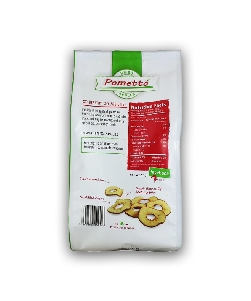 Pometto - Apple Chips (50g)