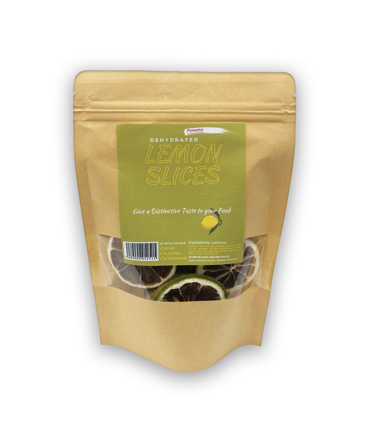 Dehydrated Lemon Slices (40g)