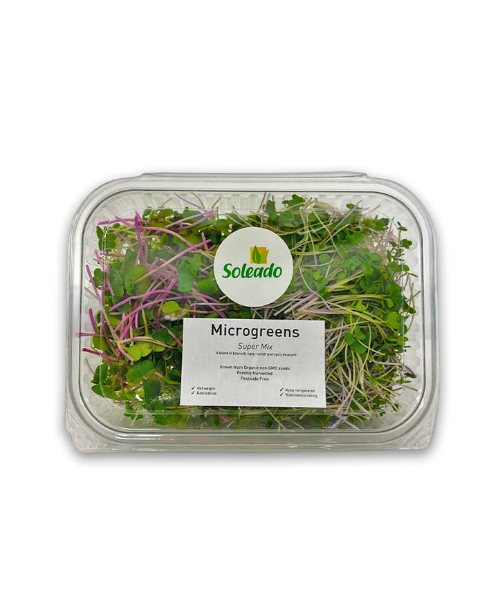 Soleado Microgreens - Super Mix