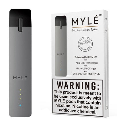 Mylé Device Gunmetal Grey