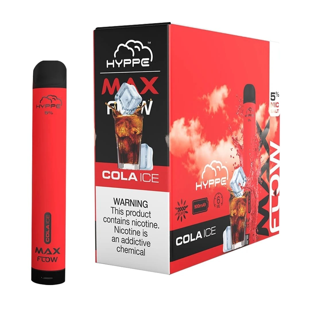 Hyppe Max FLOW Device Descartável Cola Ice | 2000 puffs