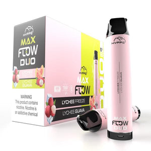 Hyppe Max FLOW DUO Device Descartável (Lychee Freeze + Lychee Guava) | 2500 puffs