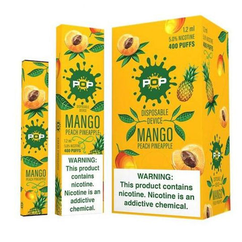 POP Device Descartável Mango Peach Pineapple