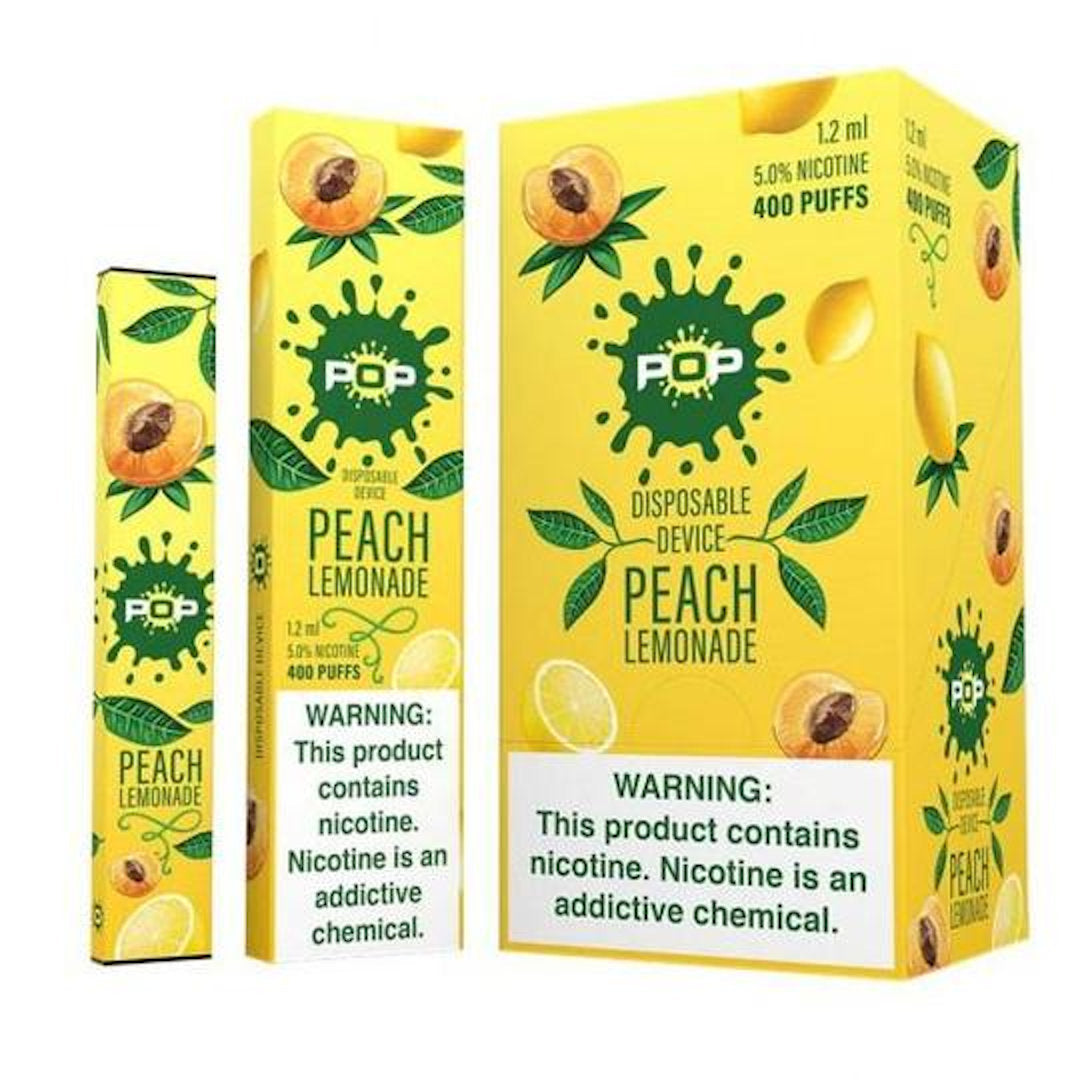 POP Device Descartável Peach Lemonade