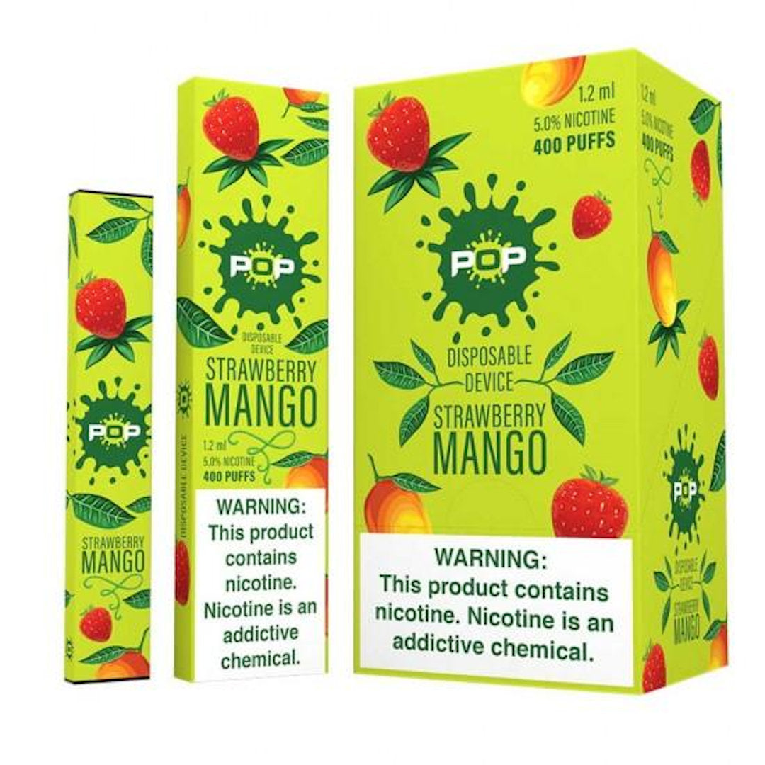 POP Device Descartável Strawberry Mango