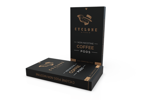 Cyclone Pods Coffee sem nicotina