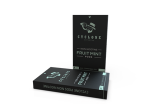 Cyclone Pods Fruit Mint sem nicotina