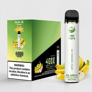 GLAMEE NOVA Device Descartável Apple Banana Ice l 4000 puffs