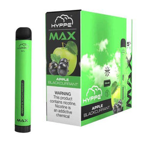 Hyppe Max Device Descartável Apple BlackCurrant | 1500 puffs