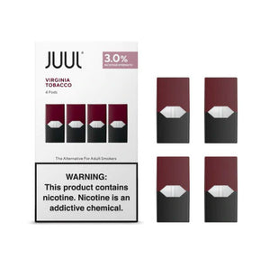 Juul Pods Virginia Tobacco 3%