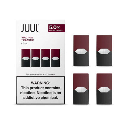 Juul Pods Virginia Tobacco 5%