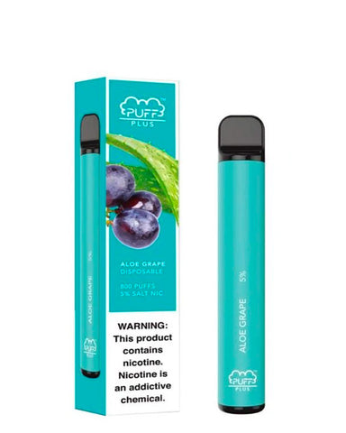 PUFF PLUS Device Descartável Aloe Grape