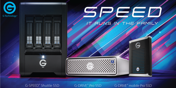 G-Technology Hard Drives & Solid State Drives