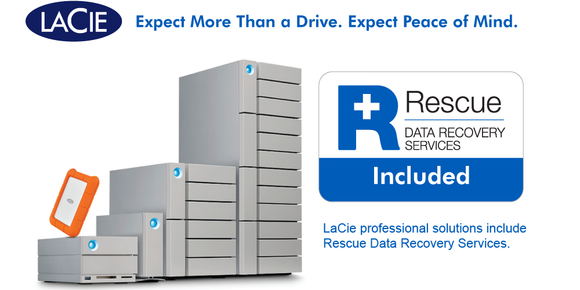 LaCie Hard Drives & Solid State Drives