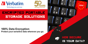 Verbatim Encrypted Portable Storage Solutions