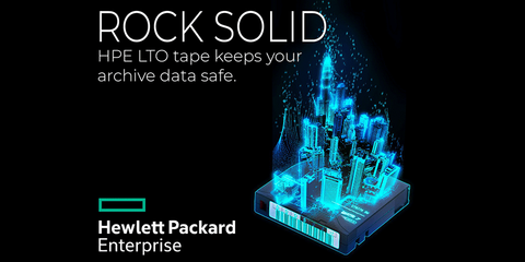 HPE Rock Solid LTO tape